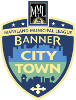 Maryland Municipal League Banner City Town Logo