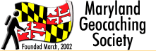 Maryland Geocaching Society Logo