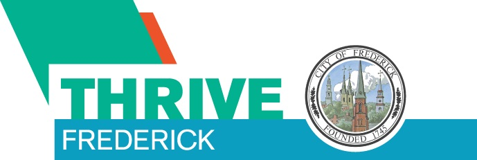 Thrive Frederick with City of Frederick Seal