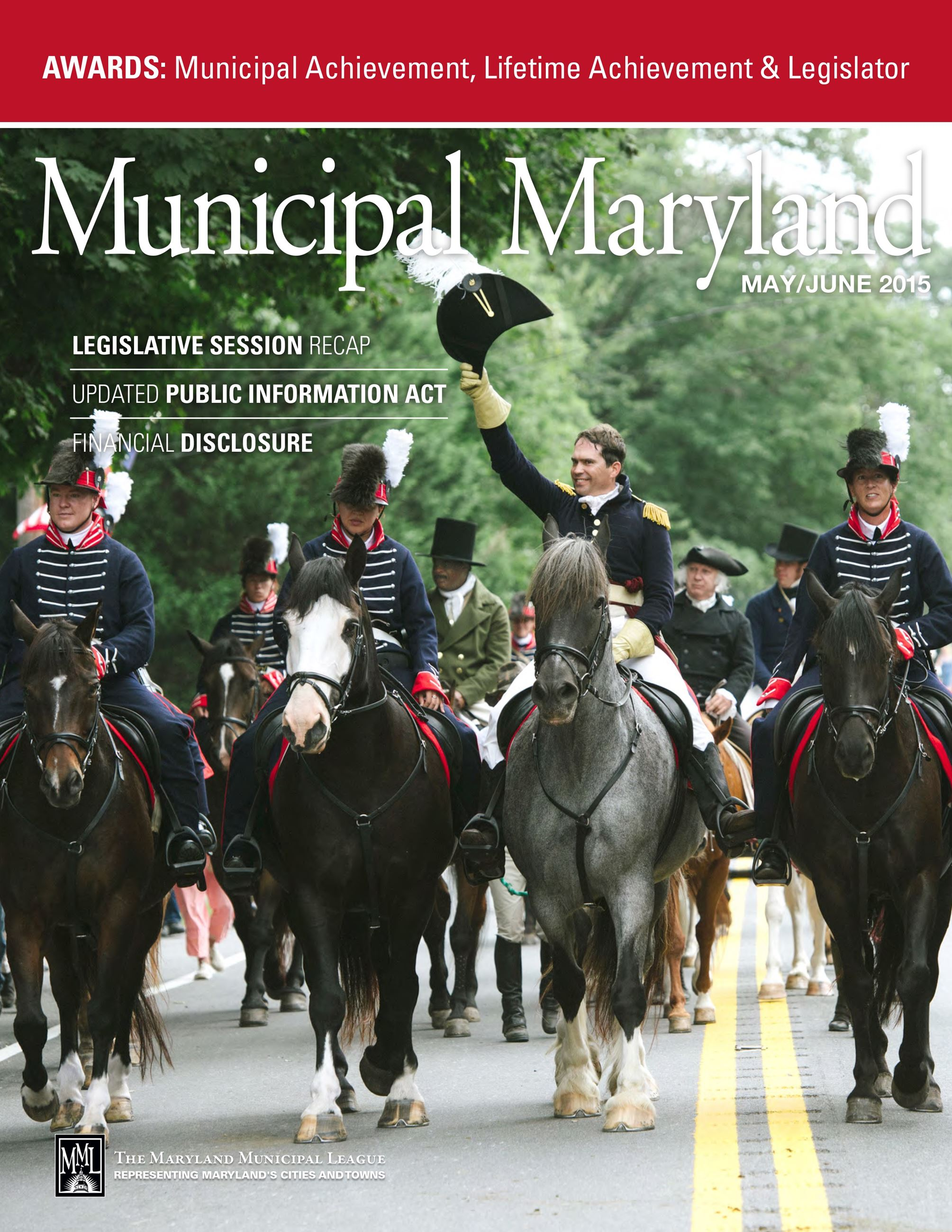 May/June 2015 Municipal Maryland Cover