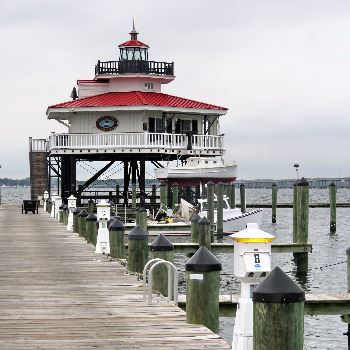 Lighthouse at Hyatt Pier Cambridge