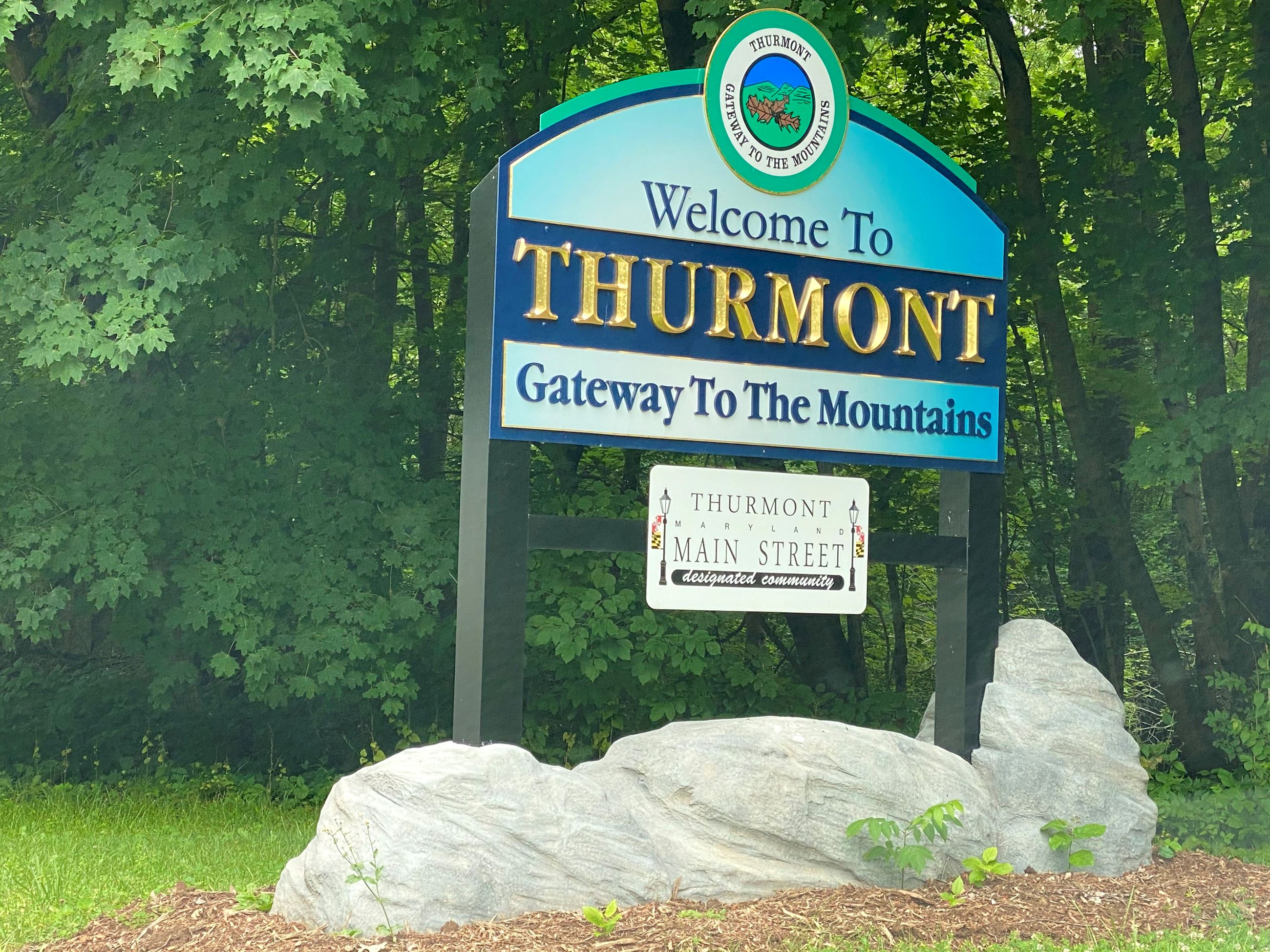 1.Thurmont welcome sign